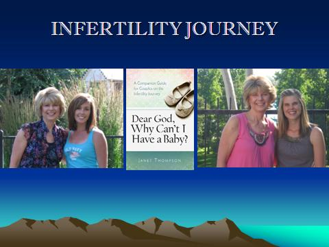 Infertility Book with Janet, Kim and Shannon