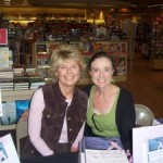 Grace and me at signing