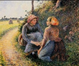 Coaching by Camille-Pissarro