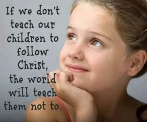 If we don't teach our children