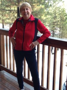 Anita happy and healthy at 74! Diet and exercise changed her life!