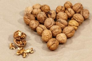 cracked walnuts