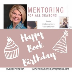 Happy Book Borthday to Mentoring for All Seasons that released Sept. 12!