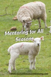 Feed my sheep is my testimony in my new book Mntoring for All Seasons: Sharing Life Experiences and God's Faithfulness