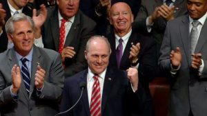 Steve Scalise gives God the glory for the miracle of his recovery and tells how he prayed sepcifically and put everything into God's hands.