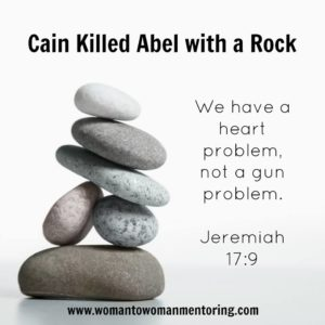 Mentoring in a World Forsaking God discusses the need for bringing God's laws back into our world not gun laws!